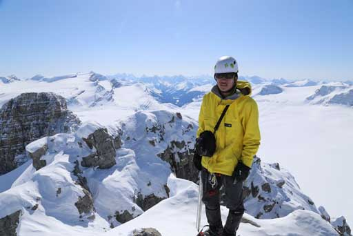 Me on the summit of Mt. Habel