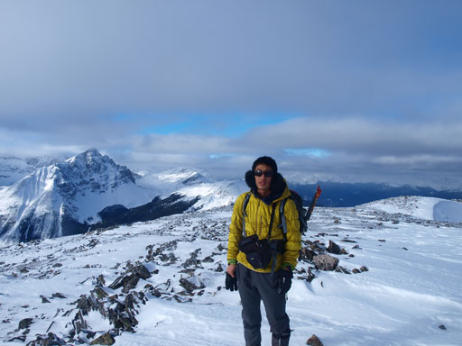 Me on the summit of Muhigan Mountain