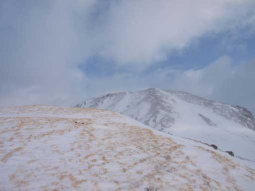 Our objective with the obvious scree ridge