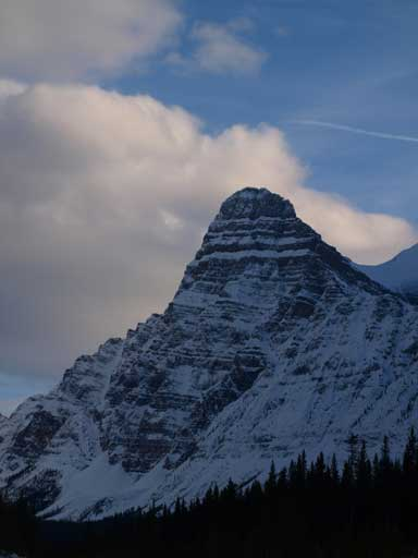 Mount Chephren from Highway 93