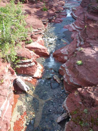 Red Rock Canyon is a famous tourism place.