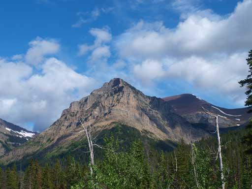 Mount Glendowan from Snowshoe Trail.