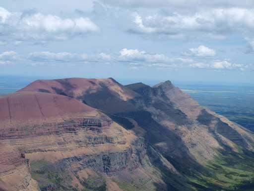 Drywood Mountain on right.