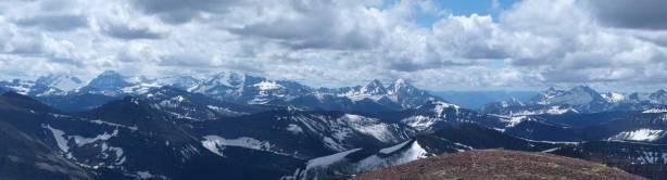 More distant big peaks in Glacier Park
