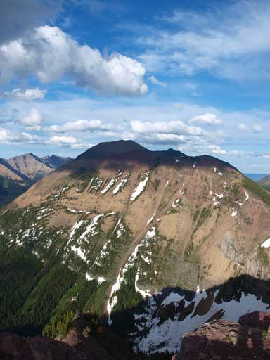 Our next objective, Kootenai Brown Peak