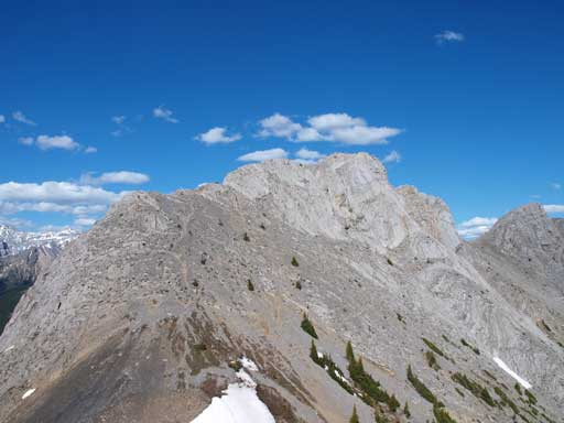 Looking back at the East summit
