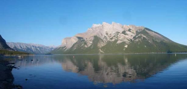 Another photo of Inglismaldie and Lake Minniwanka