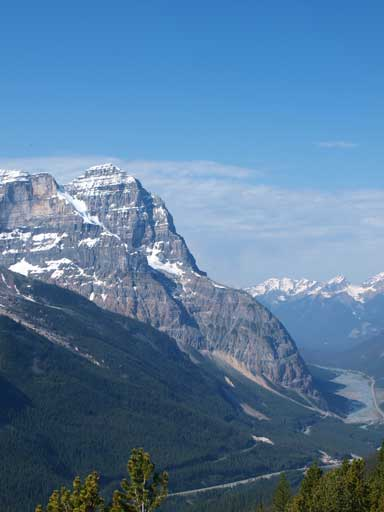 The impressive Mount Stephen