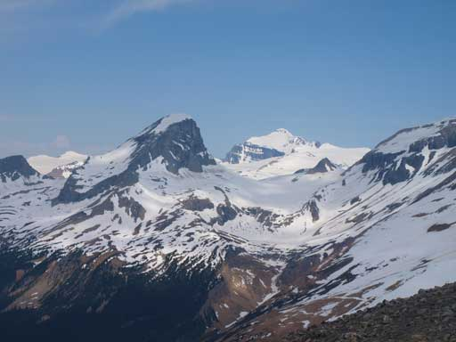 Mount Niles and Mount Balfour (behind)