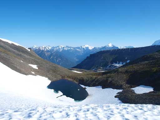 A beautiful alpine tarn