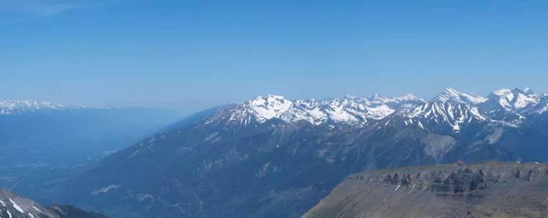 Mount Goslin at center