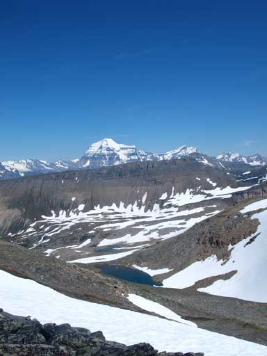 One last look at Mount Robson