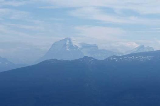 Mount Robson.