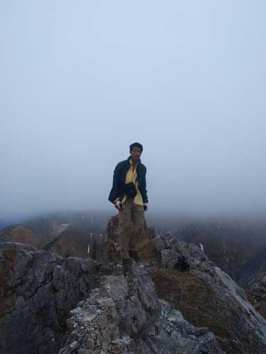Me on the summit of N. Peak