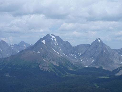 Mount Galatea and Gusty Peak