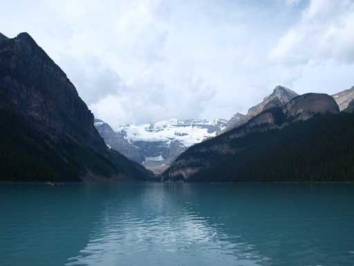 An obligatory shot of Lake Louise