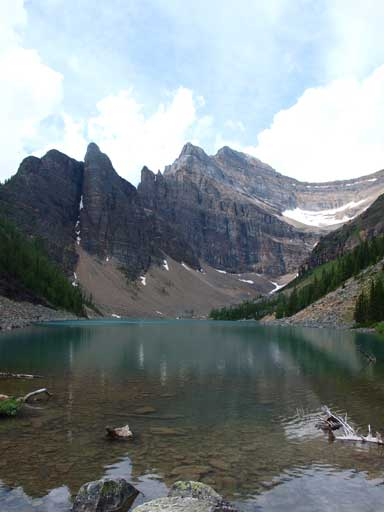 The classic shot of Lake Agnes