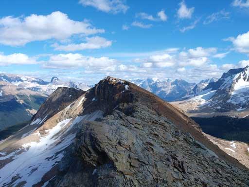 The ridge-walk is pretty long. Summit is just ahead