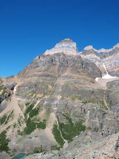 Mt. Huber in full show