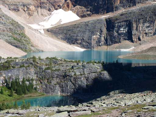 Lefroy Lake and Lake Oesa