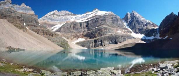 A full panorama from Lake Oesa