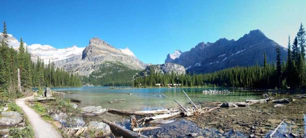 Another panorama from Lake O'Hara