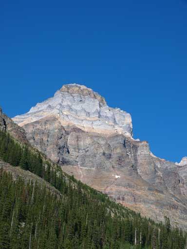 A closer look at Mt. Huber