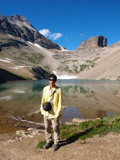 Me at Hamilton Lake