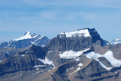 Mount Bryce and Mount Saskatchewan