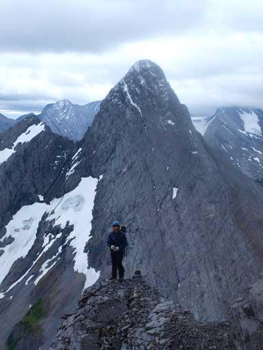 Grant with Mount Birdwood behind