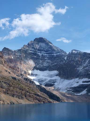 Mt. Biddle looms behind