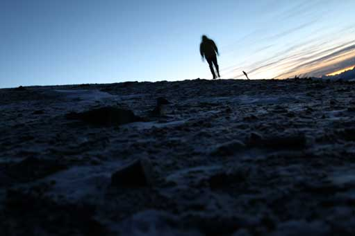 Me on the summit of Marmot Mountain. Photo by Ben