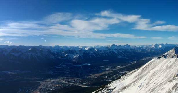 Another summit view, Bow Valley this time.