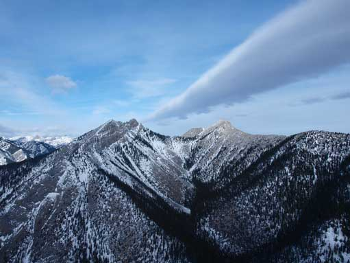 West Baldy and South Baldy