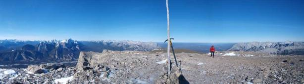 Partial summit panorama