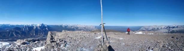 Partial summit panorama