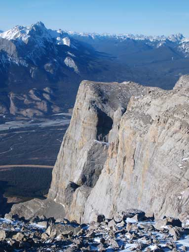 Impressive cliffs