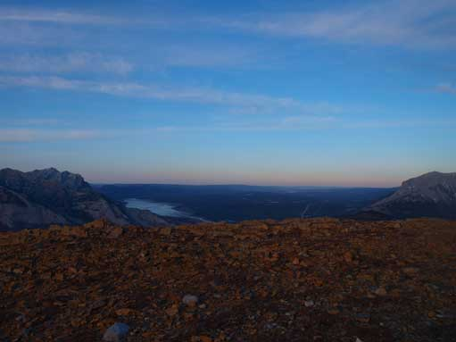 More dusk view. This is towards Brule Lake