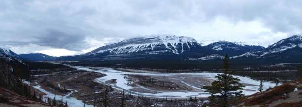 Another panorama of Athabasca River Valley