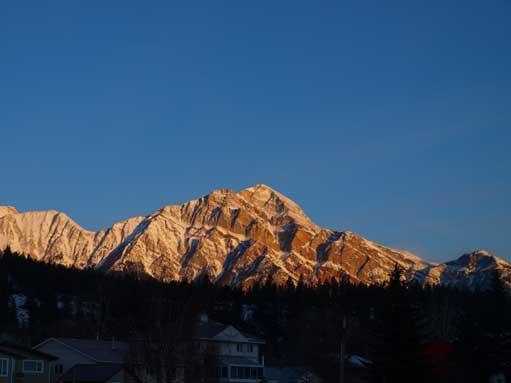 Pyramid Mountain from Jasper