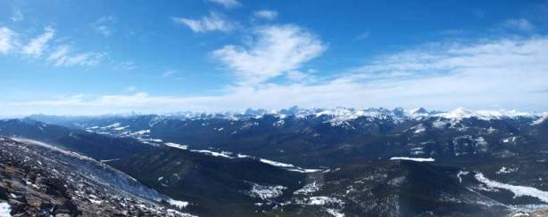 Panorama of RR 940 valley, and High Rock Range behind