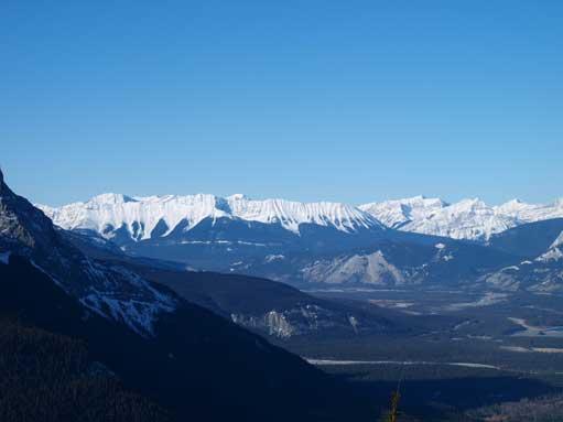 Looking west towards De Smet Range