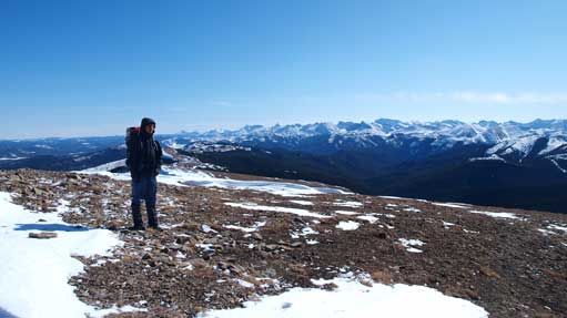Me on the summit again