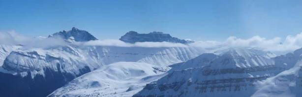 Cirrus Mountain (left), unnamed on right.