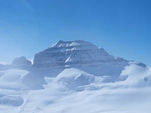 Mount Saskatchewan's north face!