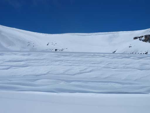 An impressive cornice/scoop