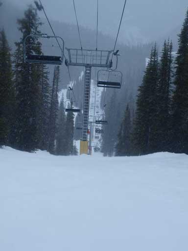 More skiing!