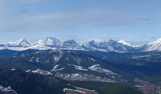 More peaks on High Rock Range