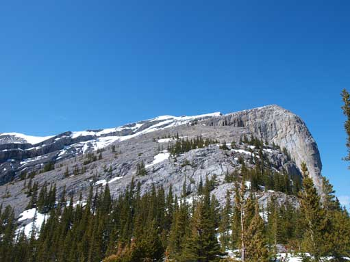 Looking up East End of Rundle