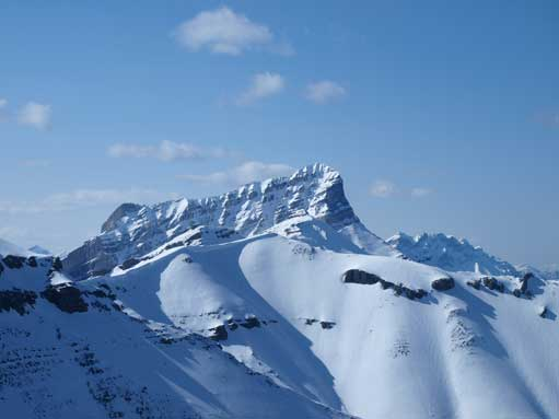 Zooming-in towards the true summit of Rundle